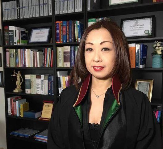 İstanbul Barosu'nun Japon Avukatı Kieko Torigoe