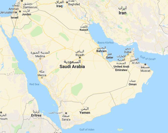 Yemen Haritası