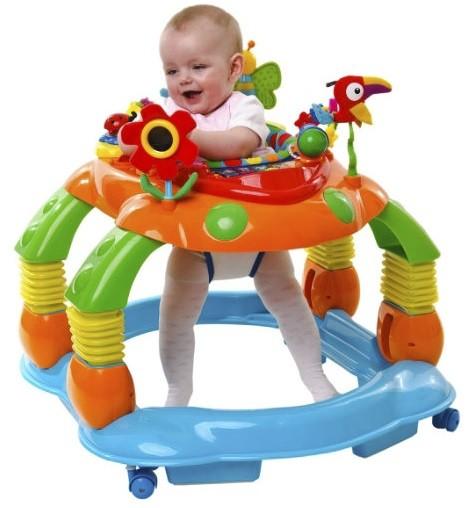 Bebeklerde Yürüteç Kullanmak