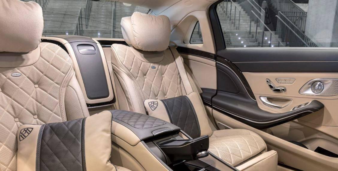 Mercedes Maybach S600 İçi