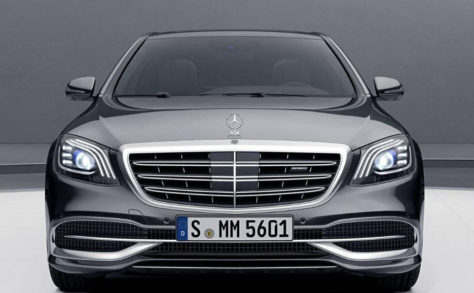 Mercedes Maybach S600 Görünüm