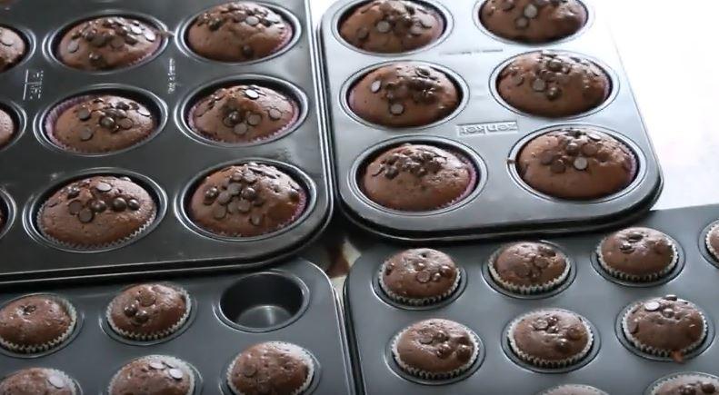 muffin-cikolatali