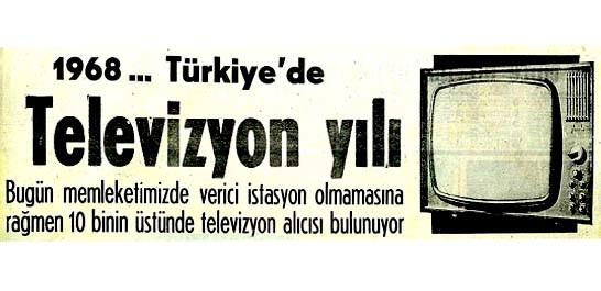 Televizyonun Evlere İlk Kuruluşu