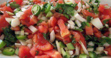 Çoban Salatası Yapımı