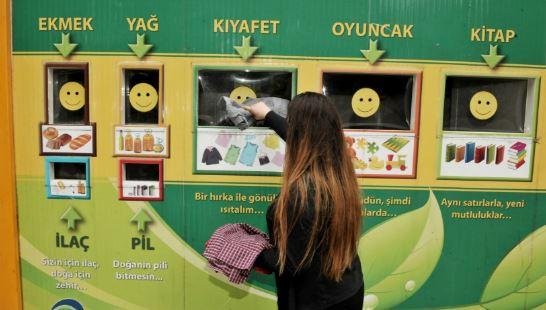 Beykoz Belediyesinin Temizlik Hizmetleri-Atık Getirme