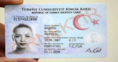 Türkiye Cumhuriyeti Kimlik Kartı Başvuru