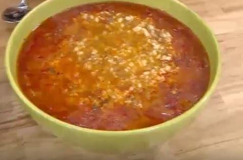 Lepe Çorbası yapımı