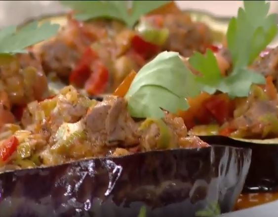 Patlıcanlı Mozzarella Halkası tarifi