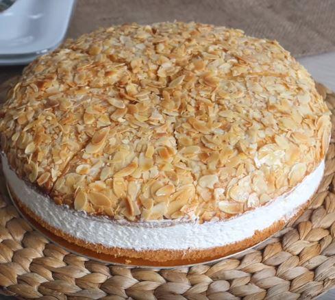 Ballı Bademli Pasta yapımı