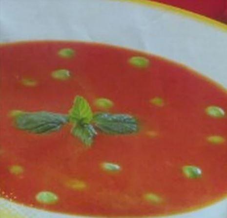 Bezelyeli Domates Çorbası yapımı