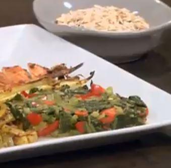 Ispanak Yemeği yapımı