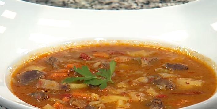 Macar Gulaş Çorbası tarifi