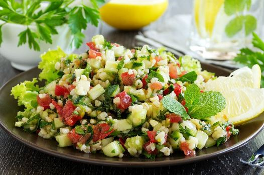 Yaz Salatası yapımı
