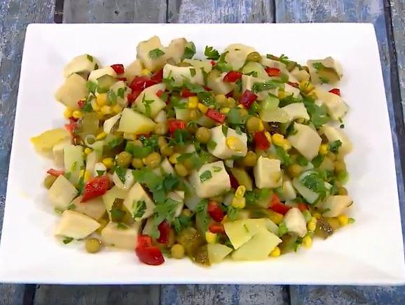 Enginarlı Salata