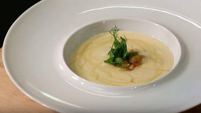 Fıstık Çorbası yapımı