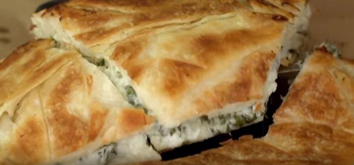 Otlu Tava Böreği yapımı