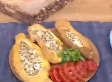 Peynirli yapımı
