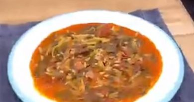 Semizotu Yemeği yapımı