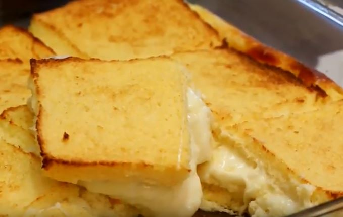 Peynirli Sufle Yapımı