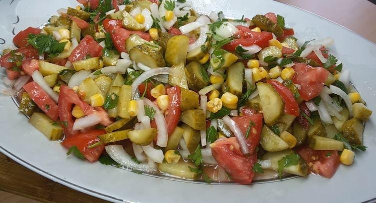 Turşu Salatası yapımı