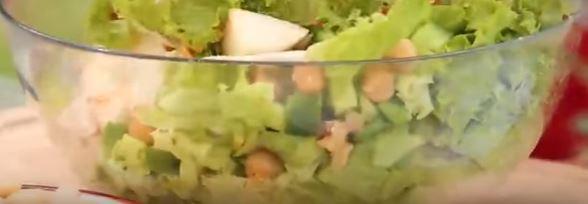 Vejeteryan Salata yapımı