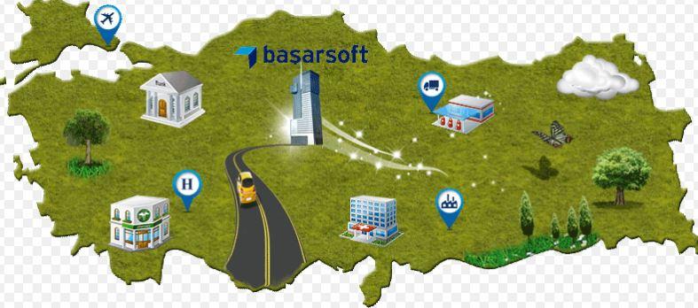 Başarsoft Bilgi Teknolojileri Akıllı Harita