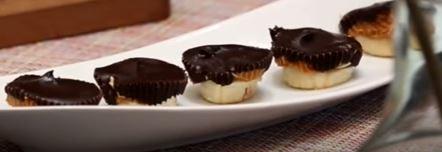 Çikolatalı Muz Lokmaları yapımı