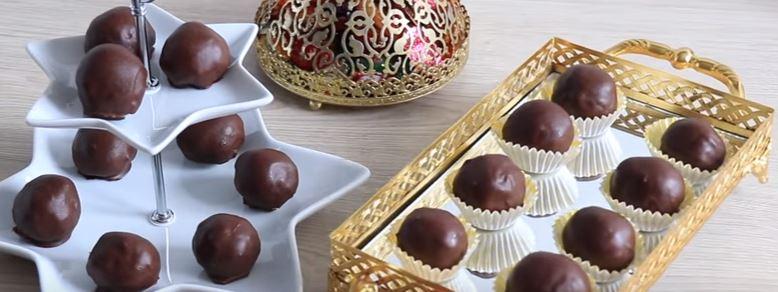 Çikolata Kaplı Hindistan Cevizi Topları Yapımı