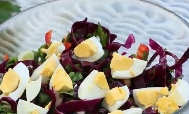Lif Kaynağı Salata Yapımı