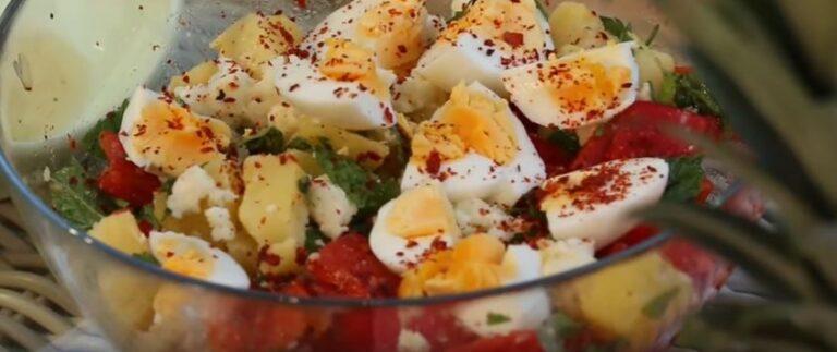 Gebelikte Mide Bulantısına Patates Salatası