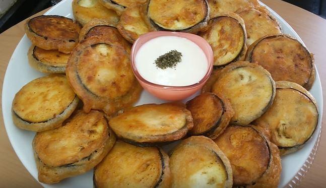 Sodalı Patlıcan Kızartması yapımı