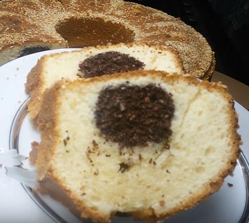 Hindistan Cevizli Sürpriz Kek yapımı