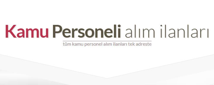 Kamu Personeli İş ilanı