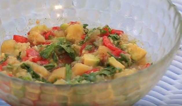 Patlıcan Salatası Közlenmiş