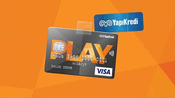 Yapı Kredi Play Kart Kullanım