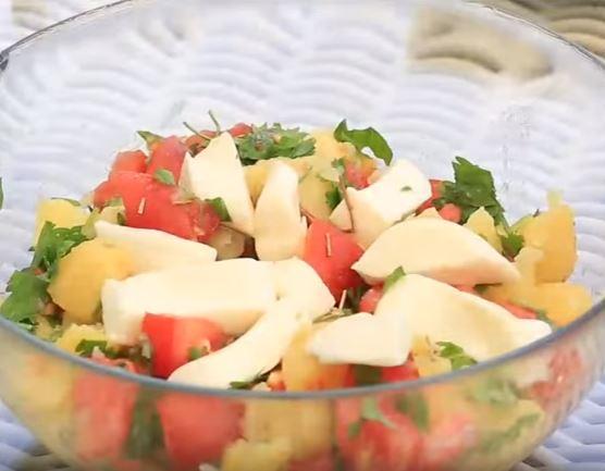 Tansiyon Hastaları İçin Patates Salatası