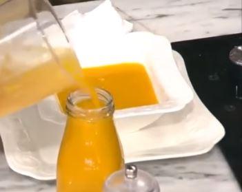 Balkabaklı Portakallı Kemik Suyu Tarifi