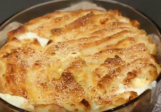 Dil Peynirli Börek yapımı