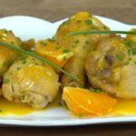Portakallı Tavuk Budu Tarifi