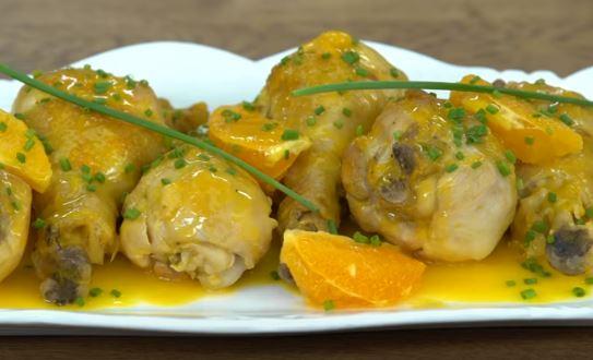 Portakallı Tavuk Budu yapımı