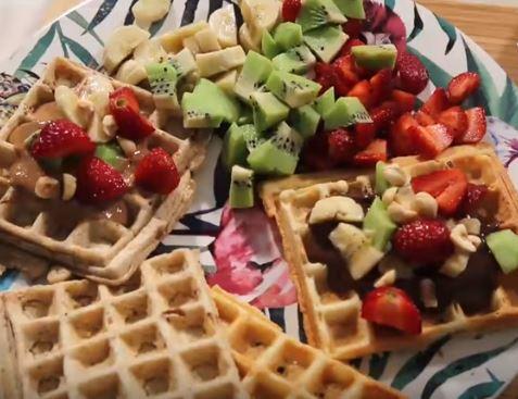 Sağlıklı Waffle Tarifi