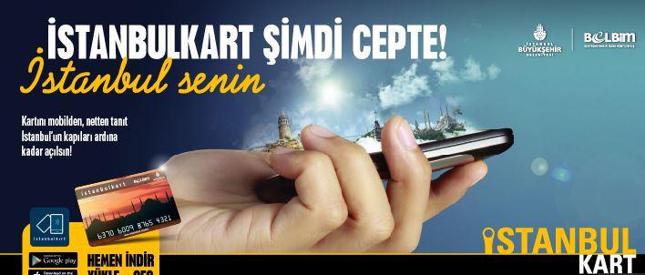 İstanbulkart Mobil