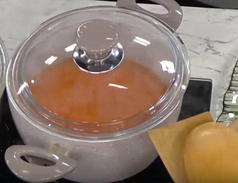 Köz Biber Çorbası yapımı