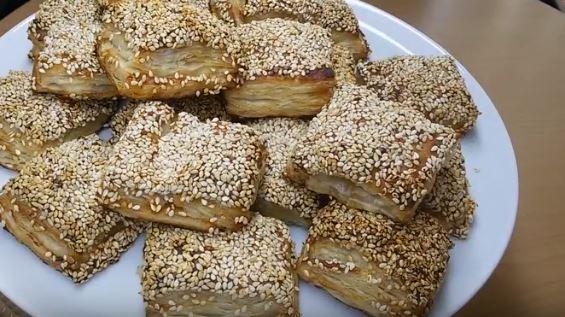 Milföy Hamurundan Simit Börek Tarifi