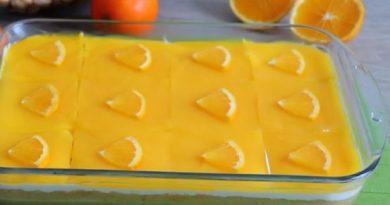 Portakal Soslu Hafif Pasta yapımı
