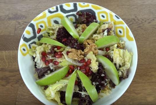 Bereket Salatası yapımı