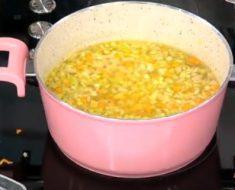 Birler Çorbası Yapımı