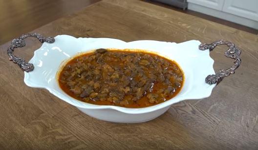 Etli Bamya Çorbası Tyapımı