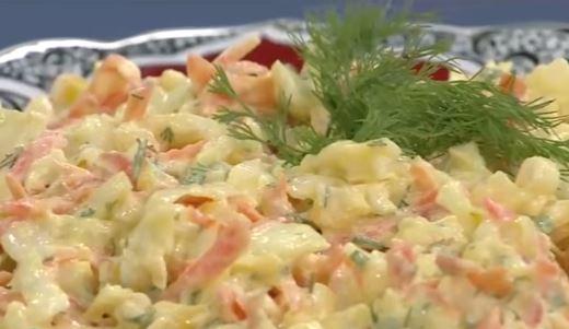 Hardal Soslu Beyaz Lahana Salatası yapımı