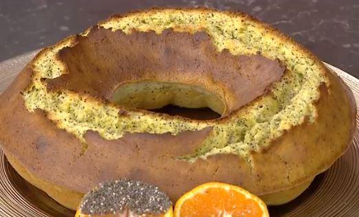 Haşhaşlı Mandalinalı Kek yapımı